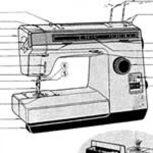 Lewenstein Electronic 1080e Matri Naaimachinehandleidingen