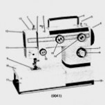 Universeel type zigzag naaimachine (NL,FR,D)