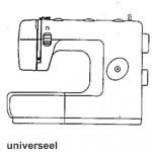 Universeel universele naaimachine (NL,D,ENG,FR)
